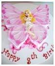 Фото - торт дівчинка метелик
