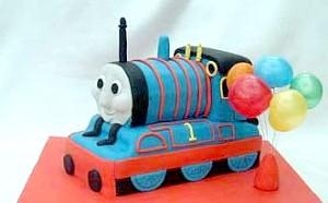 Фото - торт паровозик Том