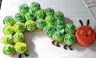 Фото - торт гусениця