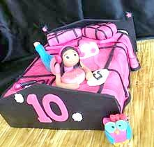 Фото - торт для дівчаток ліжечко