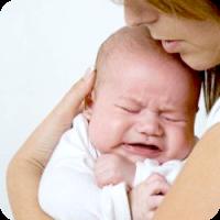 У новонародженого закладений ніс